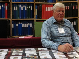 Hugh Anderson ran tables 46 and 47 at this year's show.