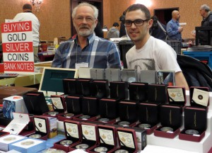 Greg (right) and Andrew Fedora, of Select Coins.