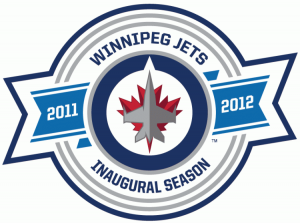 This patch commemorated the Winnipeg Jets' 2011-12 season – the team's first season back in the Manitoba capital.