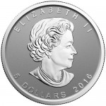 The obverse of this SML features the effigy of Queen Elizabeth II.