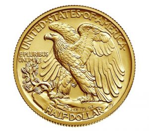 The 24-karat gold coin