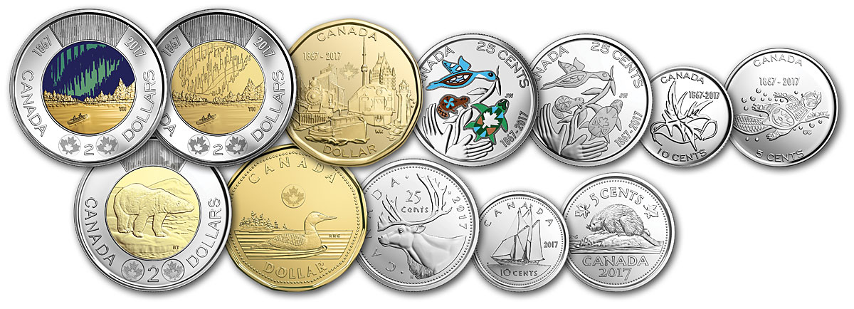 New Issue: Canada 150 coins now in circulation - Canadian ...